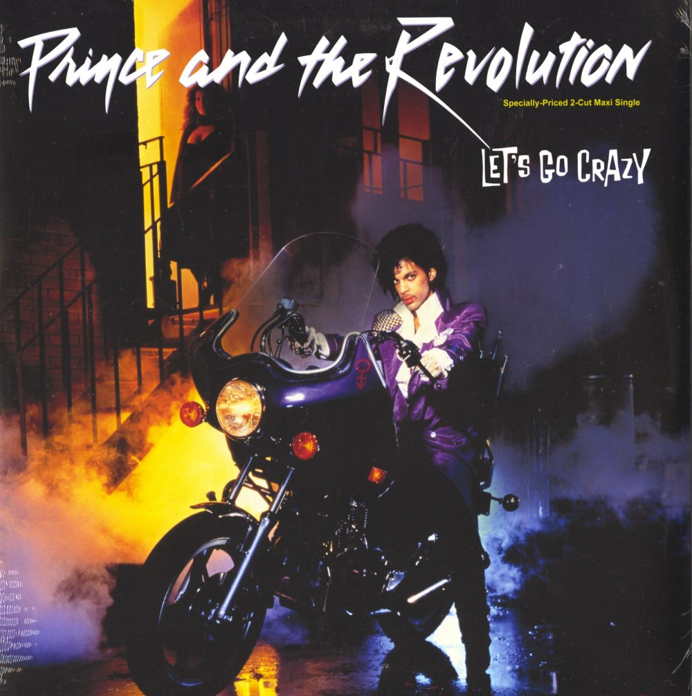 "Prince and The Revolution - Let's Go Crazy / Erotic City, 12"", Maxi-Single, Warner Brothers, 2017"