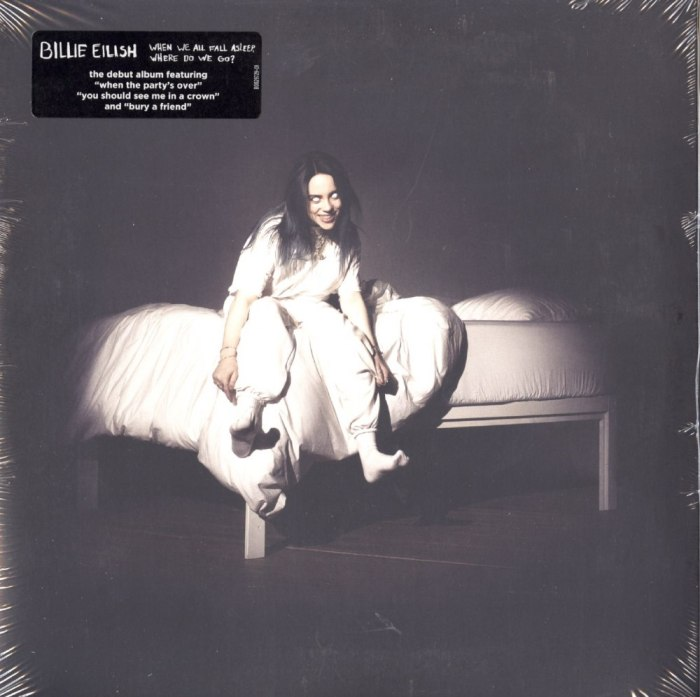 Billie Eilish - When We All Fall Asleep, Where Do We Go? - Apricot Colored Vinyl, LP, Interscope Records, 2019