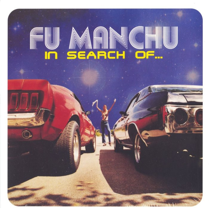 Fu Manchu - In Search Of... - Deluxe Edition, Blue, Yellow, Colored Vinyl, At the Dojo Records, 2020