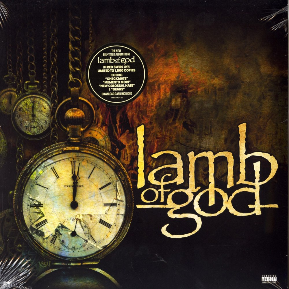 Lamb Of God - Limited Edition, Red and Black, Colored Vinyl, LP, Epic, 2020
