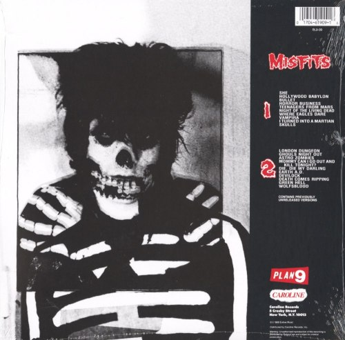 Misfits - Misfits Collection - Vinyl, LP, Reissue, Plan 9 Records