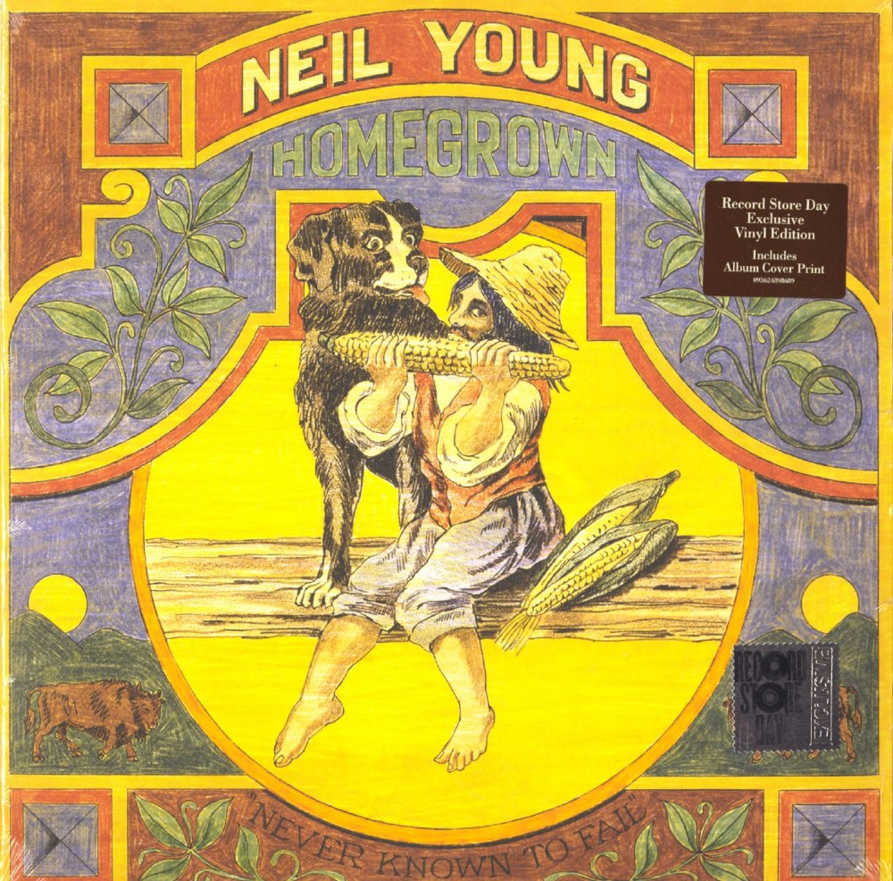 Neil Young - Homegrown - Indie Exclusive, Vinyl, LP, Reprise Records, 2020