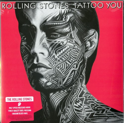 Rolling Stones - Tattoo You - Half Speed Mastered, 180 Gram, Audiophile Vinyl, LP, Reissue, Interscope Records, 2020