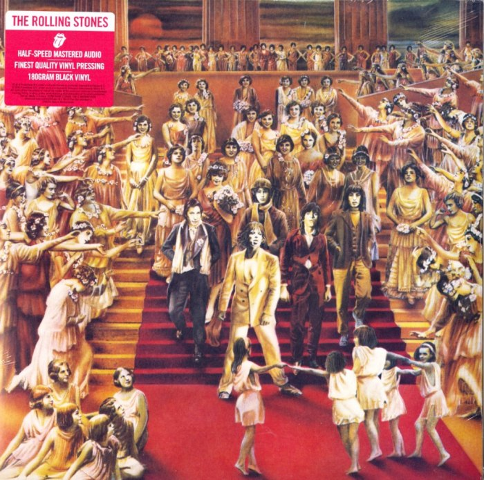 Rolling Stones - It's Only Rock and Roll - Half Speed Mastered, 180 Gram, Audiophile Vinyl, LP, Reissue, Interscope Records, 2020
