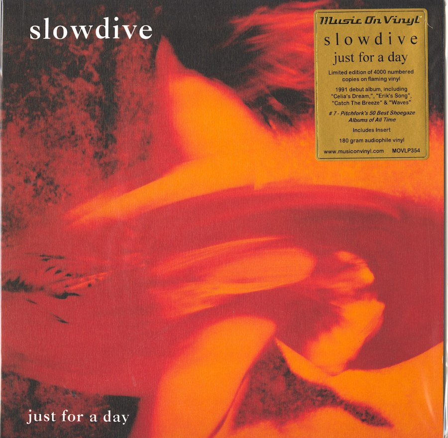 Slowdive - Just For A Day - Limited Edition, Numbered, Flaming Orange Colored Vinyl, MOV, 2020