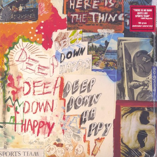 Sports Team - Deep Down Happy - Limited Edition, Jawbreaker Colored Vinyl, LP, Bright Antenna, 2020
