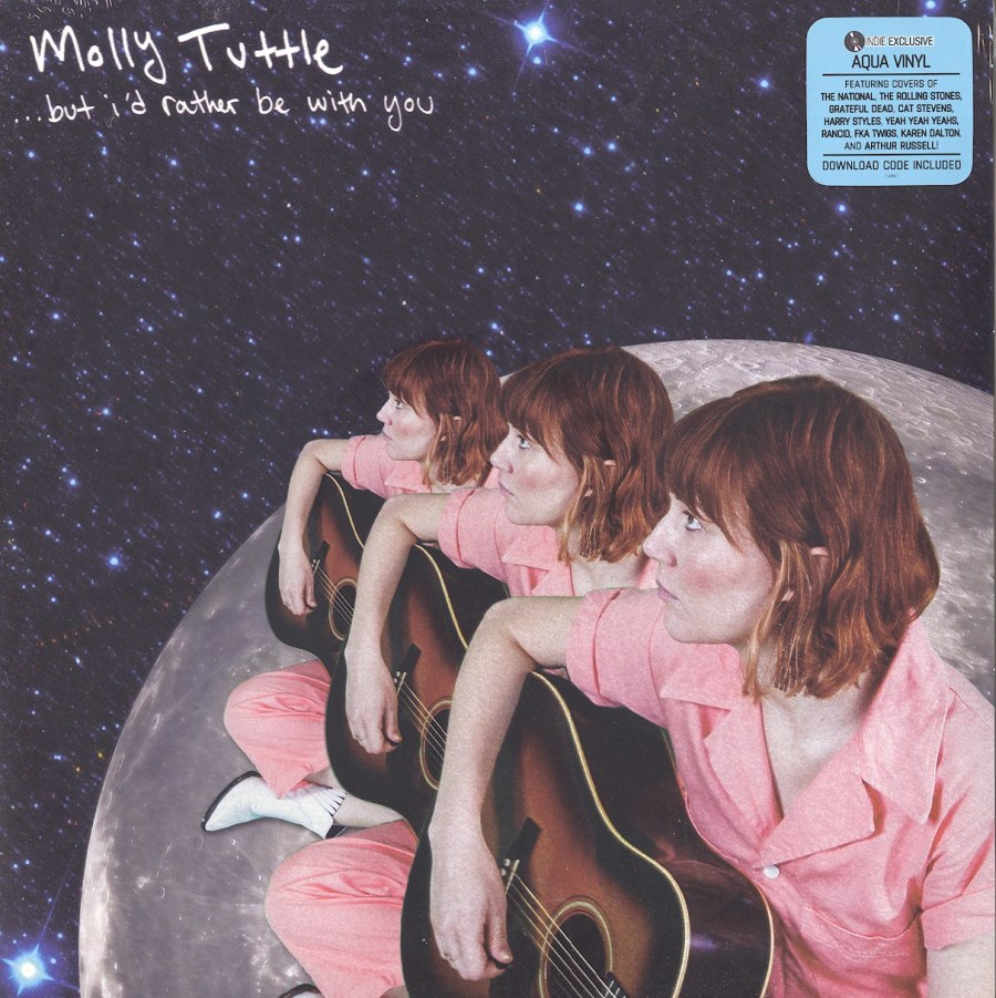 Molly Tuttle - ...but I'd rather be with you - Limited Edition, Aqua, Colored Vinyl, LP, Compass Records, 2020