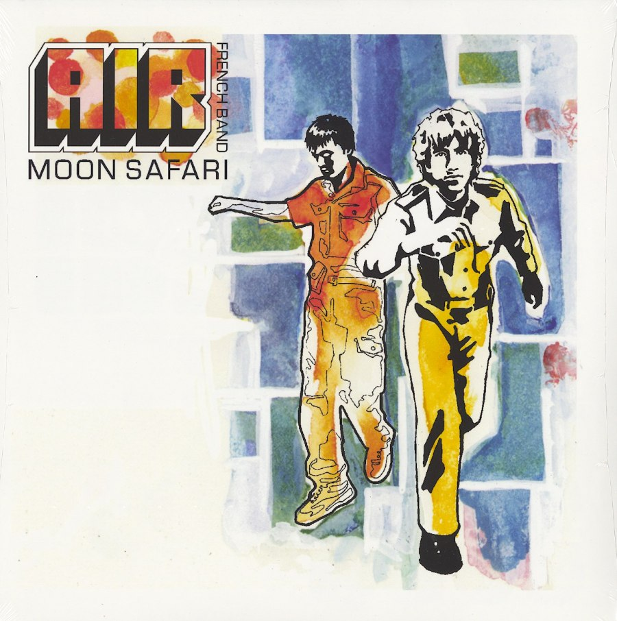 Air - Moon Safari - 180 Gram, Vinyl, LP, Reissue, Parlophone, 2015