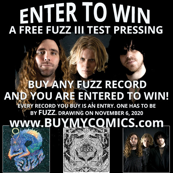 Fuzz Test Pressing Giveaway