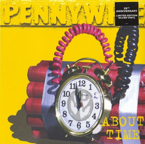 Pennywise - About Time - Limited Edition, Silver, Colored Vinyl, Reissue, Epitaph, 2020