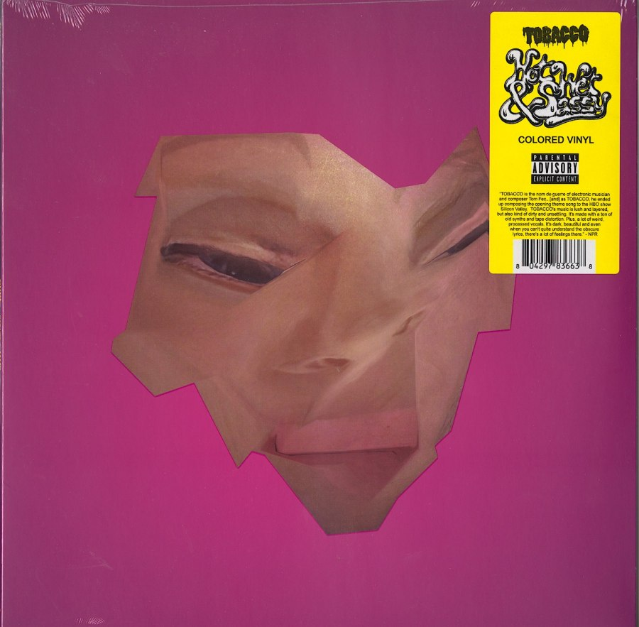 Tobacco - Hot, Wet and Sassy - Limited Edition, Black and Clear, Colored Vinyl, LP, Ghostly, 2020