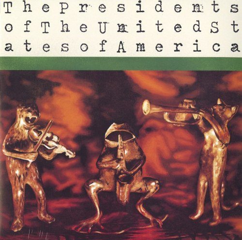 The Presidents Of The United States Of America - POTUSA - 160 Gram, Vinyl, LP, Reissue, Pusacorp, 2020