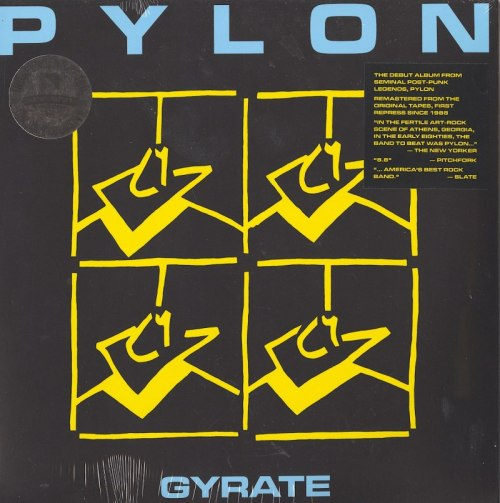 Pylon - Gyrate - Limited Edition, Blue, Colored Vinyl, LP, Remastered, New West Records, 2020