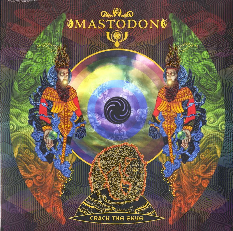 Mastodon - Crack the Skye - 180 Gram Vinyl, LP, Reprise, WEA, 2009