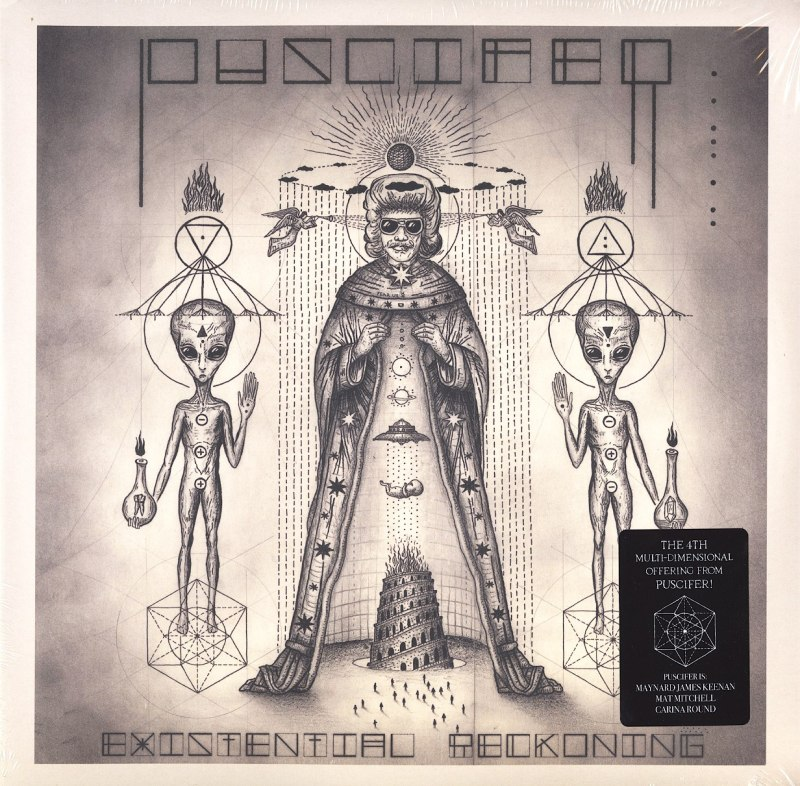 Puscifer - Existential Reckoning - Limited Edition, Clear Double Vinyl, LP, BMG, 2020