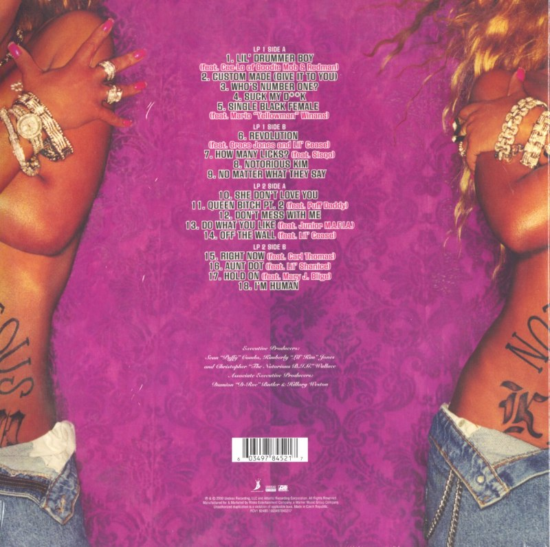 Lil Kim - The Notorious K.I.M. - Limited Edition, Black and Pink, Double Vinyl, LP, Reissue, Atlantic, 2021