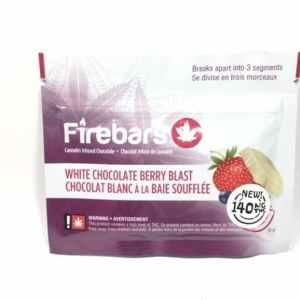 Fire Bars- White Chocolate Berry Blast (140 MG THC)