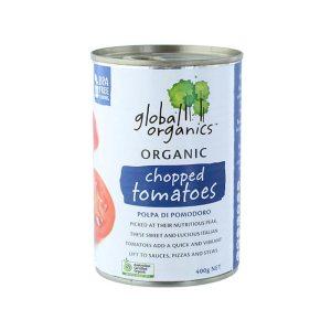 Global Organics Tomatoes Chopped Organic 400g