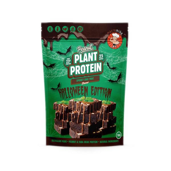 Macro Mike Spooky Choc Mint Plant Based Protein 1kg
