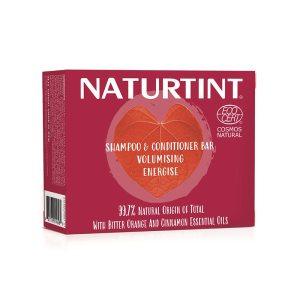 NaturTint Shampoo Conditioner Bar Volumising 2-in-1 75g