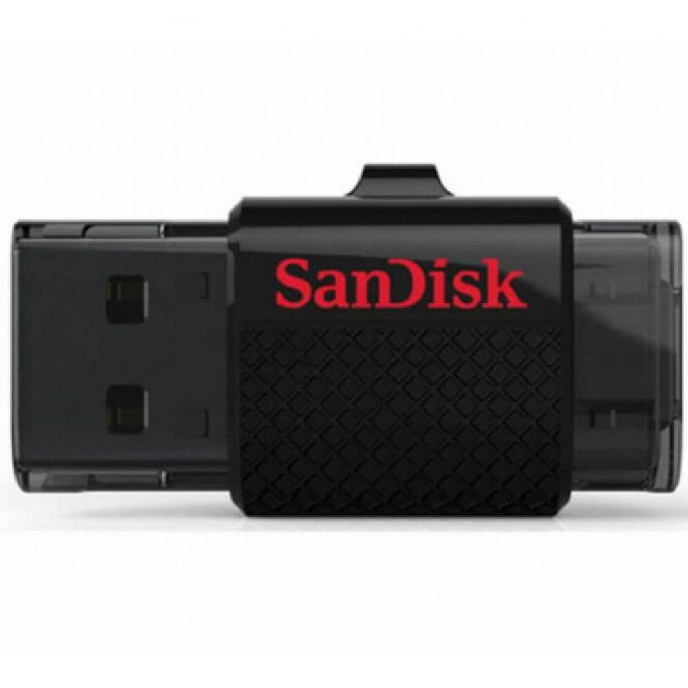 16GB SanDisk Ultra Dual OTG Micro USB Adapter Memory Stick Flash Drive 16GB