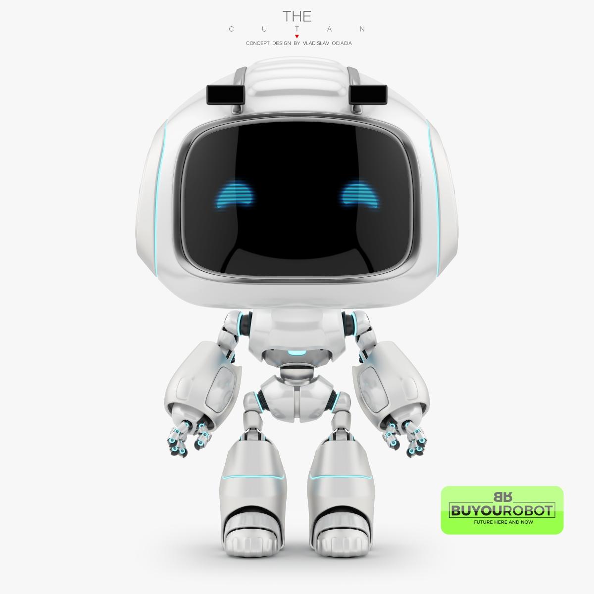 cutan vii robot 3d