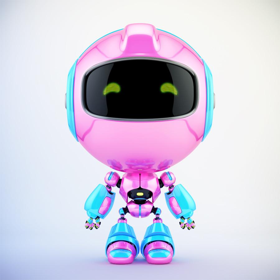 pink blue pr cute