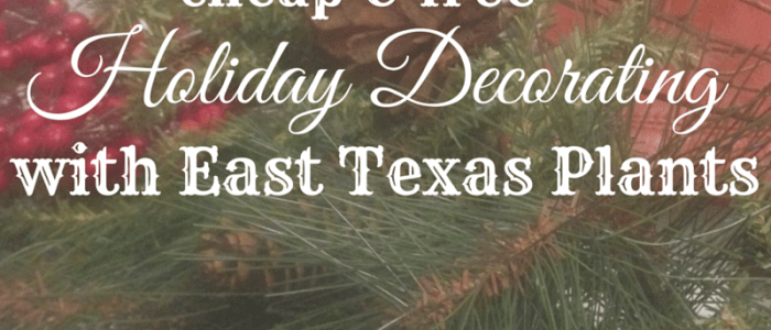 holiday decorating your east tx house