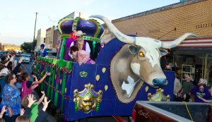 Mardi Gras Parade in Palestine, TX - Photo by Stuart Whitaker