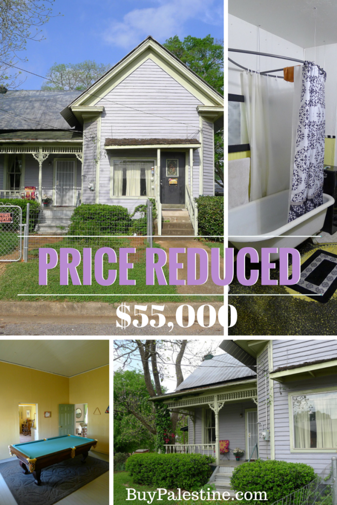 Price Reduced - Cheap house for sale at 301 N Perry, Palestine TX