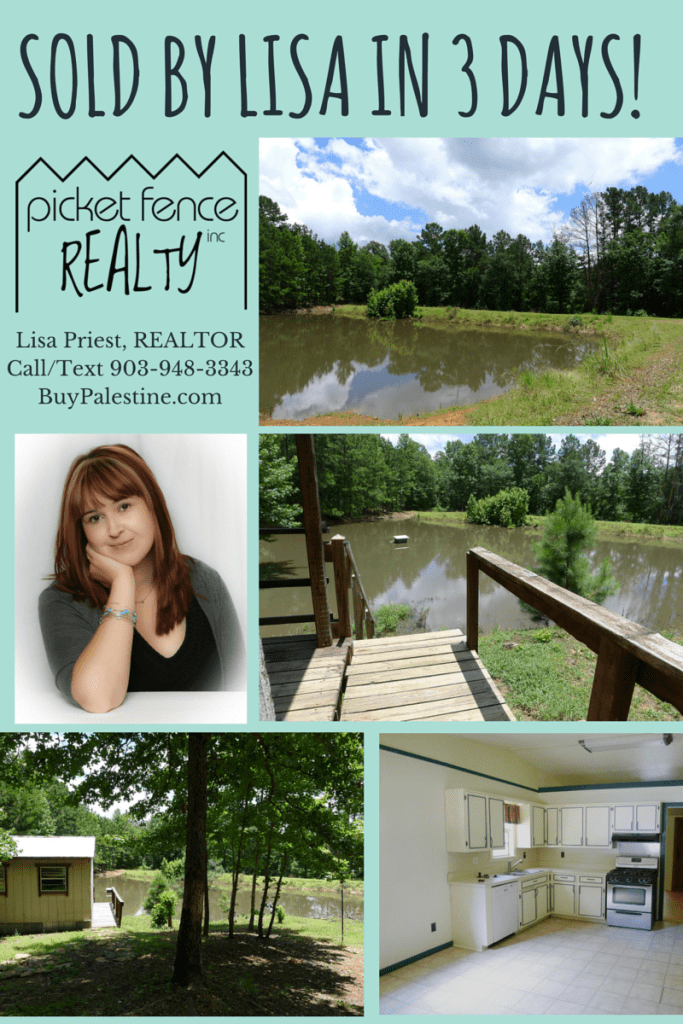 REAL ESTATE house sold by lisa in palestine tx