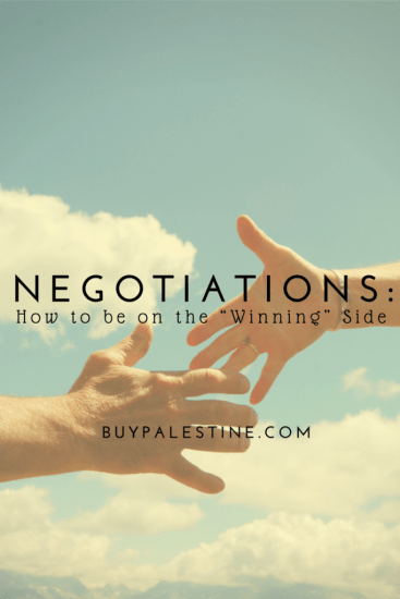 "Real Estate Negotiations: How to be on the ""Winning"" Side"