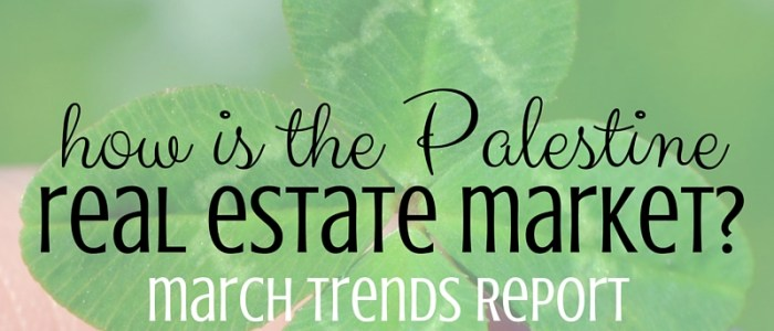Palestine tx Real Estate Market Report– March 2016 1
