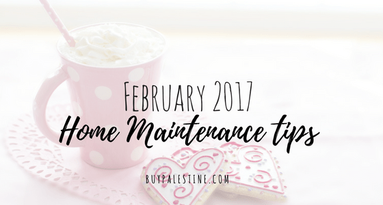 February Home Maintenance Tips for Your Palestine TX House