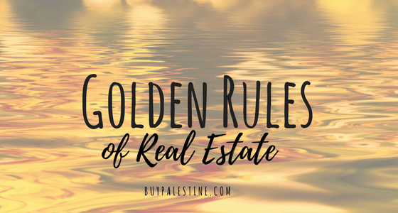Golden Rules of Real Estate