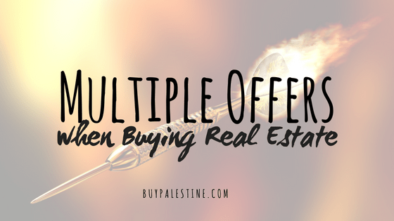 Multiple Offers when Buying Real Estate