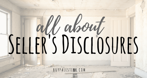All About Seller's Disclosures