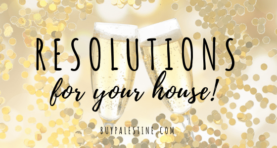 resolutions for your house
