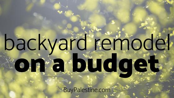 Backyard Remodel on a Budget