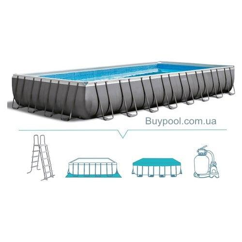 Каркасный бассейн Intex 28372