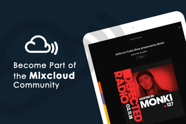 Become Part of the Mixcloud Community