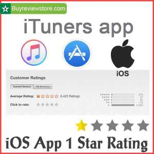 Buy ios App 1 Star Rating