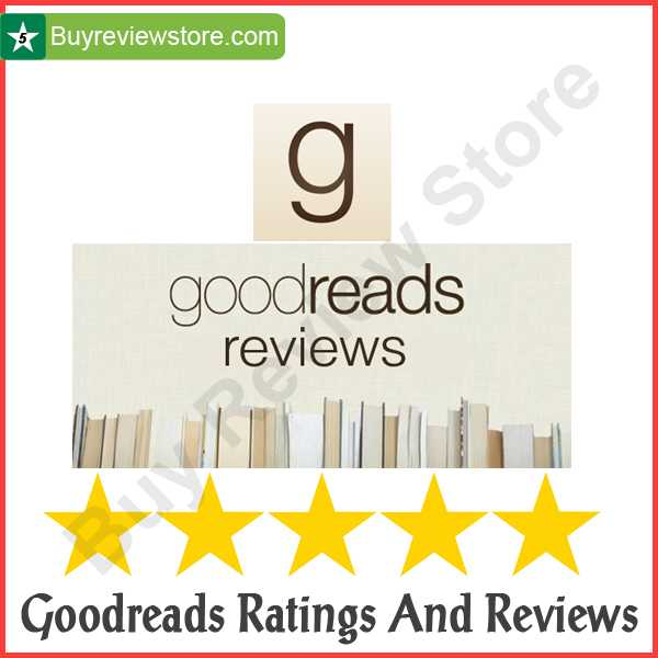 Goodreads Ratings And Reviews