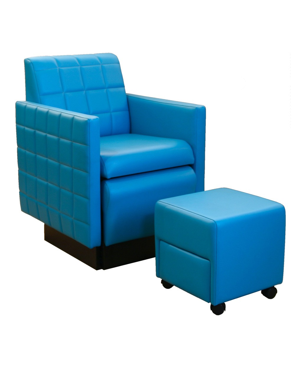 Pedicure Chairs No Plumbing Needed Collins 2560 Nouveau Club Pedicure Chair W Footsie Bath