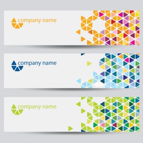corporate identity horizontal banner