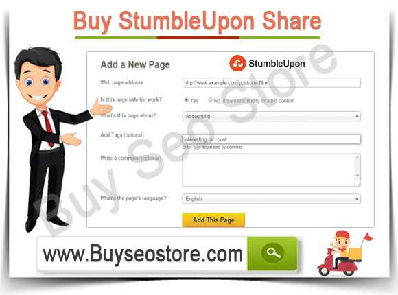 Buy StumbleUpon Share