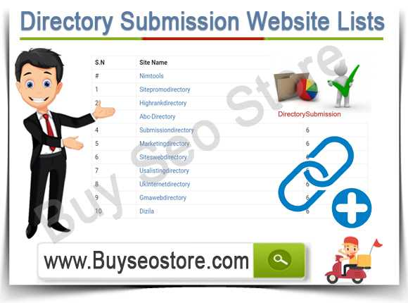 Buy Directory Submission Website Lists