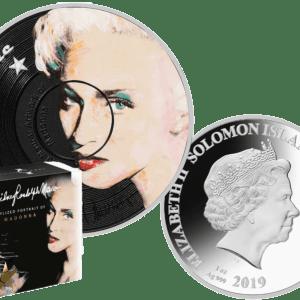 buy-2019-SOLOMON-ISLANDS-LEGENDS-OF-MUSIC-MADONNA-1-OZ-SILVER-PROOF