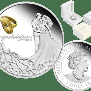 buy-2021-AUSTRALIA-WEDDING-CONGRATULATIONS-1OZ-SILVER-PROOF-COIN-OGP