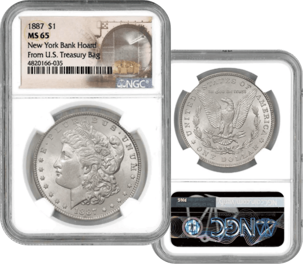 Buy 1887 Morgan Silver Dollar